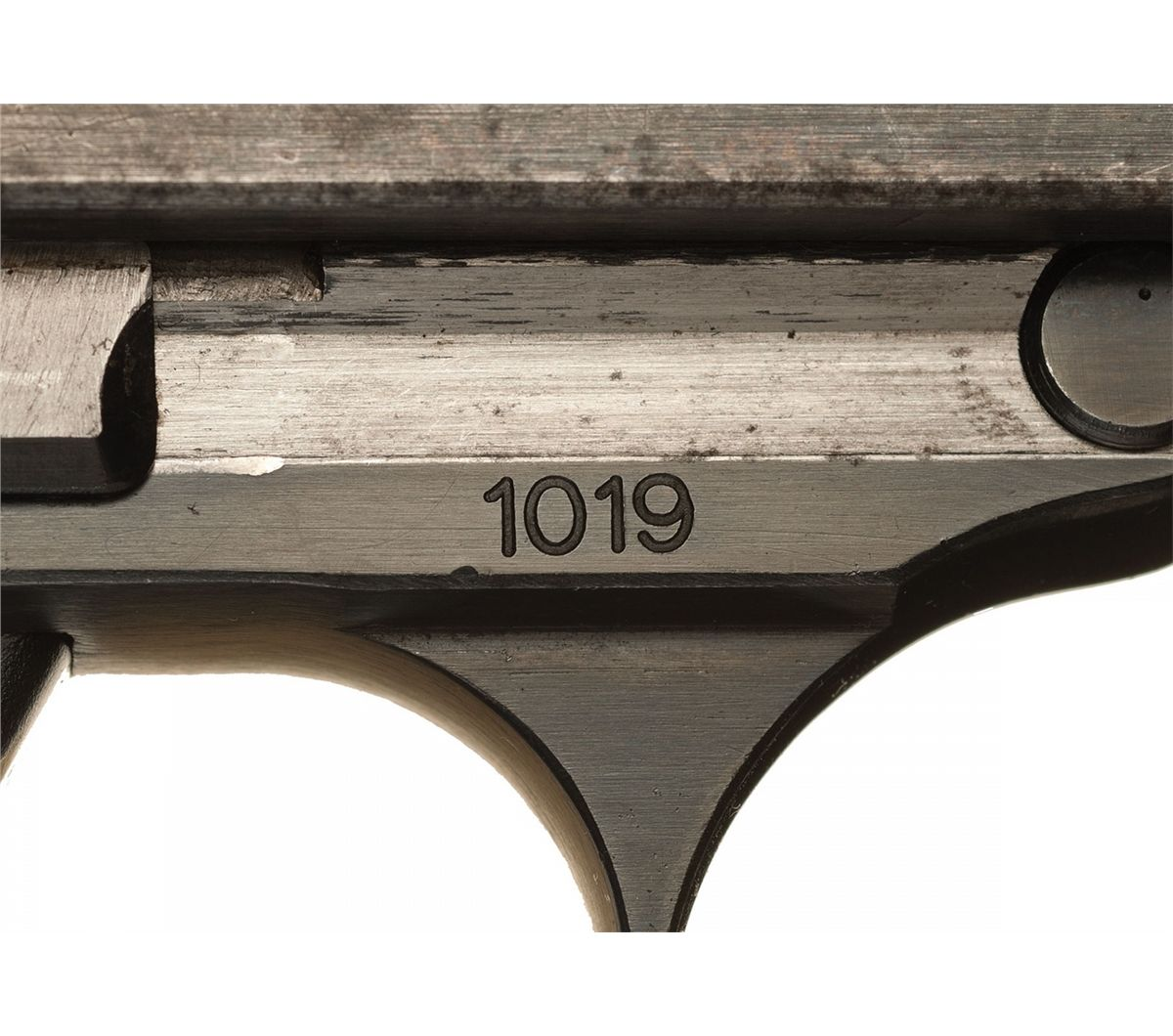 ... Image 3 : Extremely Rare Historic Serial Number 1019 Walther P38  Prototype Pistol ...