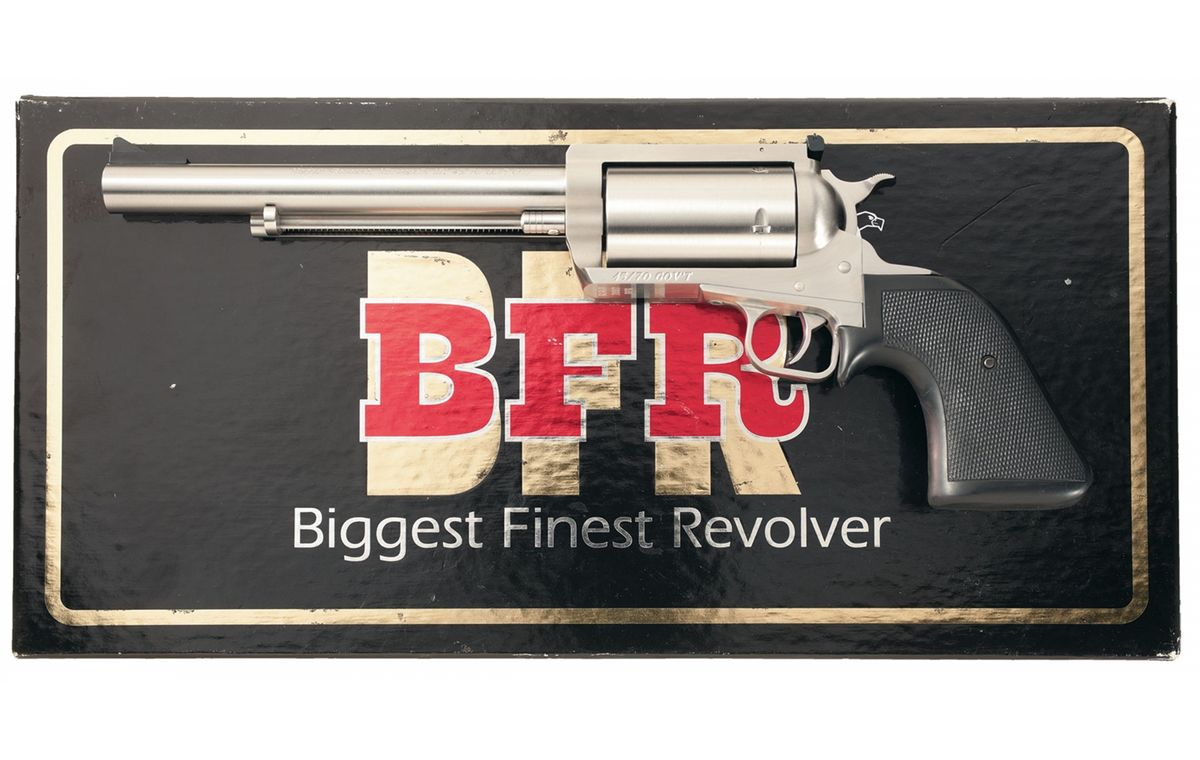 Magnum Research Bfr 45 70 Single Action Revolver With Box