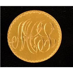Newfoundland $2 Gold Love Token