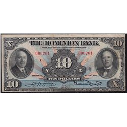 1931 Dominion Bank  $10