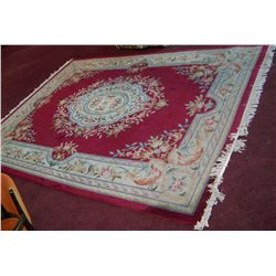 GORGEOUS HAND WOVEN RUG 9FT X 12 FT