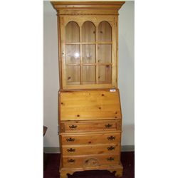 GORGEOUS OAK HUTCH
