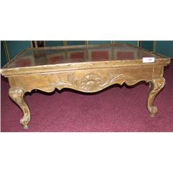 ANTIQUE/ VINTAGE LATE VICTORIAN OAK COFFEE TABLE. PRREVIOUSLY APPRAISED $1,250