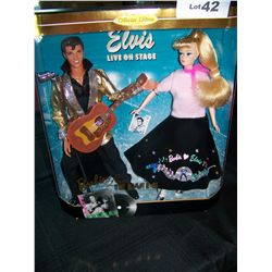 """BARBIE LOVES ELVIS"" COLLECTORS EDITION IN NEW UNOPENED BOX. BARBIE & KEN"