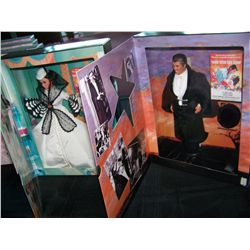(2X$) BARBIE AS SCARLETT O'HARA, KEN AS RHETT BUTLER. NEW IN UNOPENED BOX