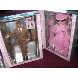 (2X$) BARBIE MY FAIR LADY. BARBIE AS ELIZA DOOLITTLE, KEN AS HENRY HUGGINS. NEW IN UPOPENED BOX