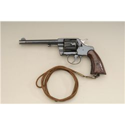 Colt Model 1901 .38 caliber U.S. Martial  marked double action revolver inspected by  R.A.C. in very