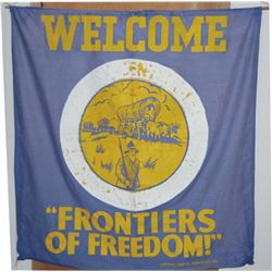 1941 Welcome Frontiers of Freedom