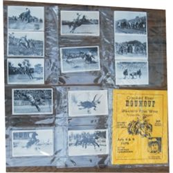 23 DeVere 1940-50's rodeo postcards