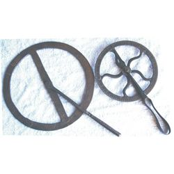 2 travelers, wheel measuring tools