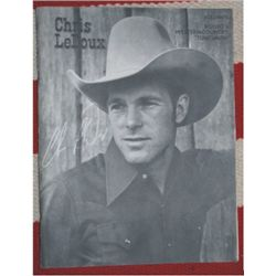 Chris LeDoux song book, Volume 1