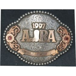Gist silver trophy buckle