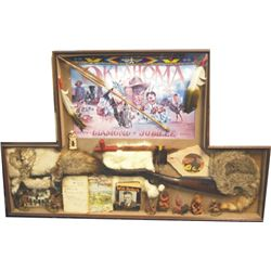 Oklahoma Diamond Jubilee shadow box