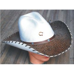 New Charlie One Horse tooled leather hat