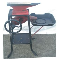 unusual blacksmith forge on stand