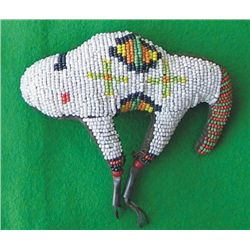 beaded buffalo fetish