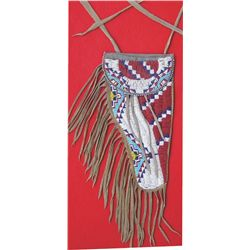 Sioux style beaded holster