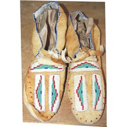trading post beaded moccasins
