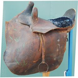 side saddle, rough condition