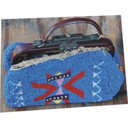 Lakota full beaded purse
