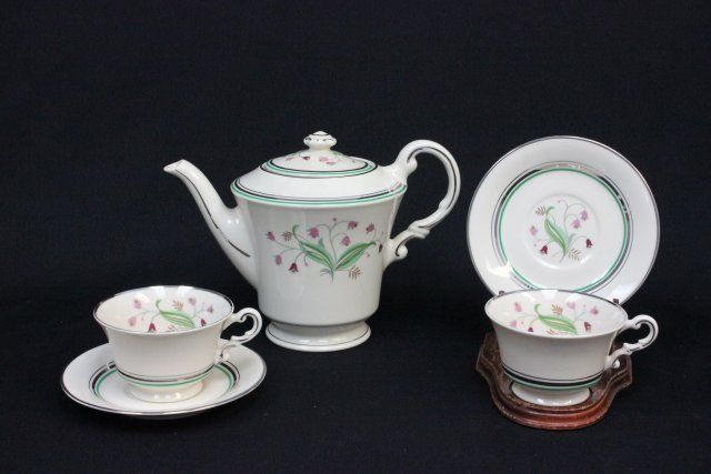 ... Image 4  Syracuse China Coralbel Old Ivory dinnerware set ... & Syracuse China Coralbel Old Ivory dinnerware set