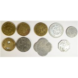 9 PCS TOKENS, STORE MUST SEE