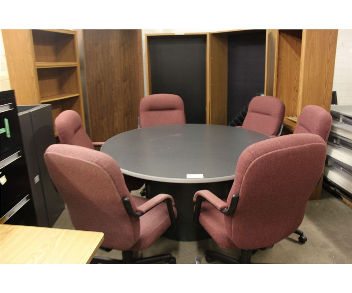 Lot Of Bookcases Table Office Chairs And Miscellaneous Office Furniture Able Auctions