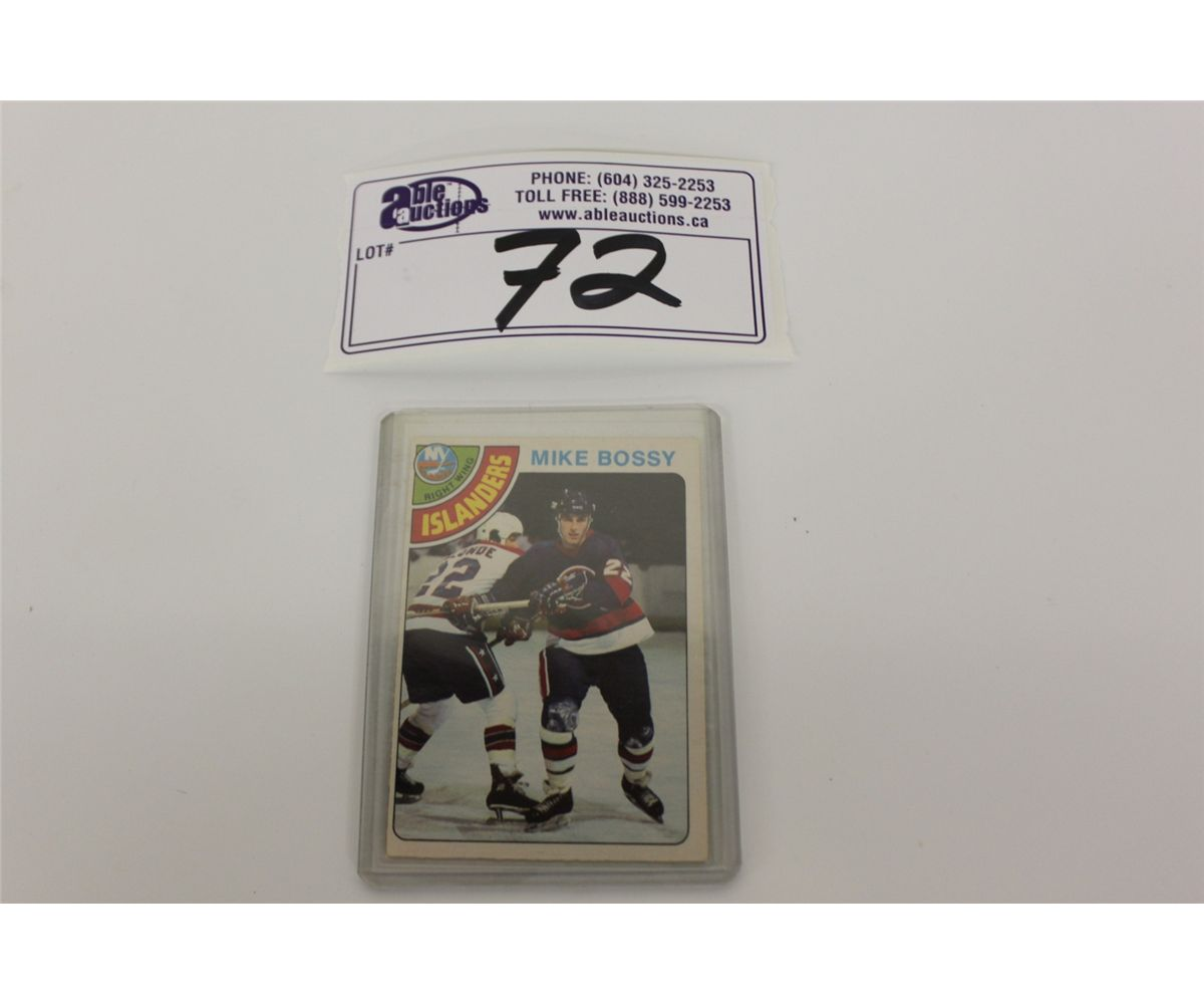 1978-79 O-PEE-CHEE #115 MIKE BOSSY ROOKIE CARD