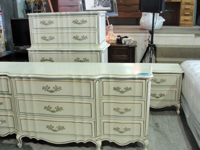 4pc french provincial style bedroom furniture set - French style bedroom furniture sets ...