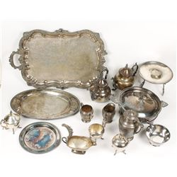 Rogers Company Silver Plate Collection