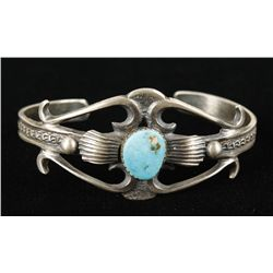 Sterling with Turquoise Cuff Bracelet