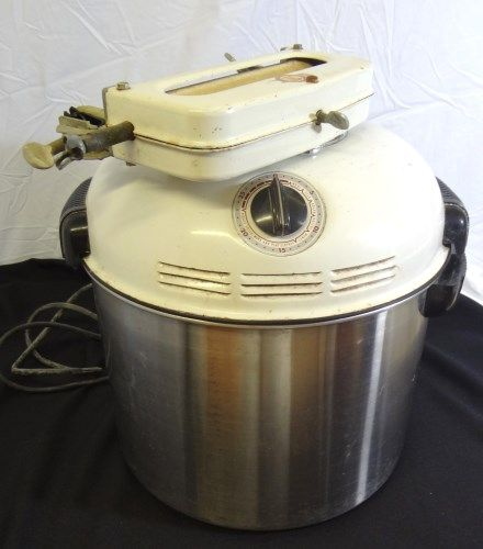 Superbe HANDYHOT VINTAGE ELECTRIC PORTABLE TABLETOP WASHING MACHINE. Loading Zoom
