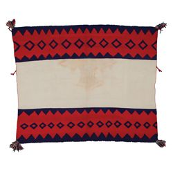 Navajo Germantown Women's Wearing Blanket