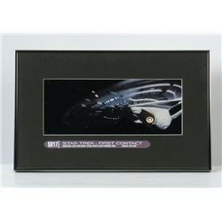 Star Trek: First Contact Enterprise Artwork From ILM