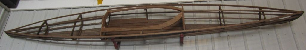WTB Old Wood Kayak Frame