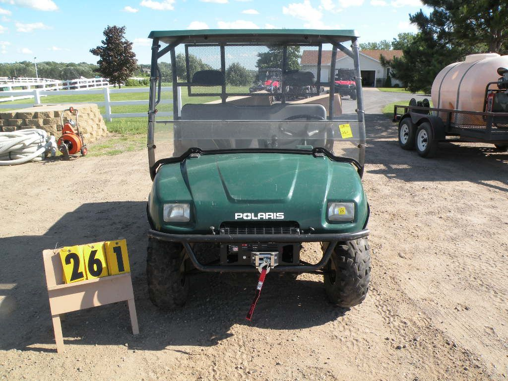 2004 Polaris Ranger Tm 400 W  Brand New Plow 4xarb63a44d163670