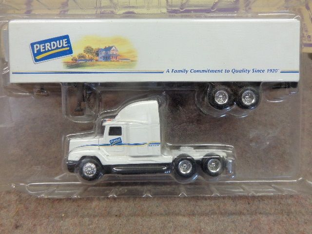 BF 1/64 Scale Tractor Trailers, Colors Bright Toys