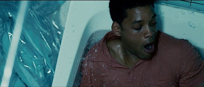 seven pounds A strange irs agent uses his database to locate a series of needy people and goes to elaborate lengths to improve their lives during the process, he falls i.