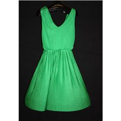 Roberto Cavalli green dress, size 12
