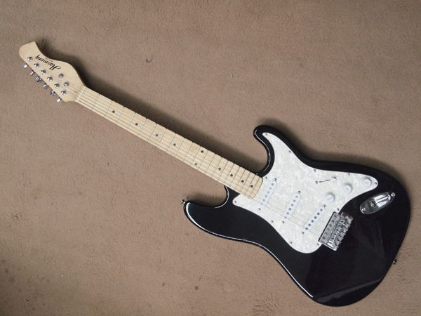 Image 2 Harmony 6 String Electric Guitar Strat Style