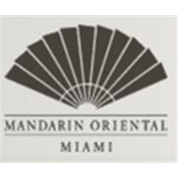 two night stay at Mandarin Oriental Hotel in Miami