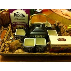 Knotts Berry Farm tea set