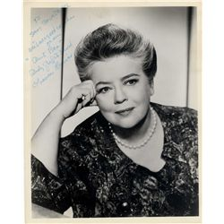 Frances Bavier Signed 8'' x 10'' Glossy Photo as ''Aunt Bee''
