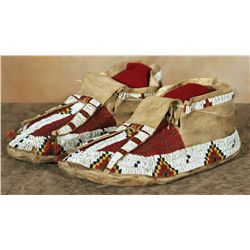 Cheyenne River Beaded Moccasins