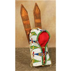 Sioux Beaded Doll Cradle