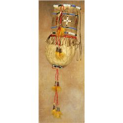Santee Sioux Buffalo Bladder bag