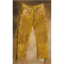 Santee Sioux Quilled Pants