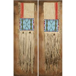 Blackfoot Beaded Saddle Drape