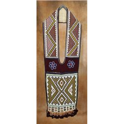 Chippewa Loom Beaded Bandolier Bag