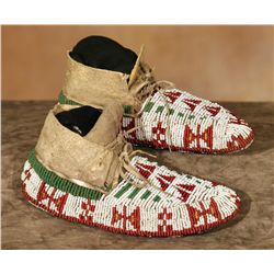 Sioux Child's Ceremonial Moccasins